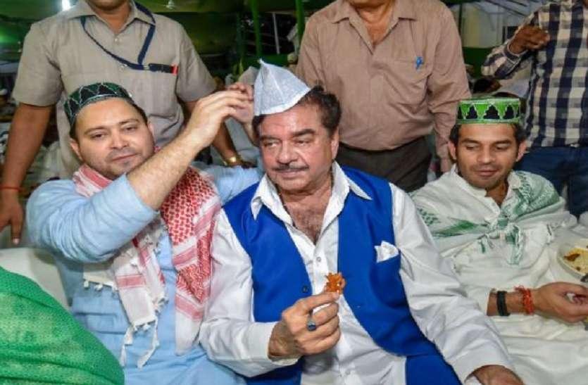 RJD की इफ्तार पार्टी: भाजपा नेता शत्रुघ्न सिन्हा बोले-लालू परिवार से मेरा पारिवारिक संबंध