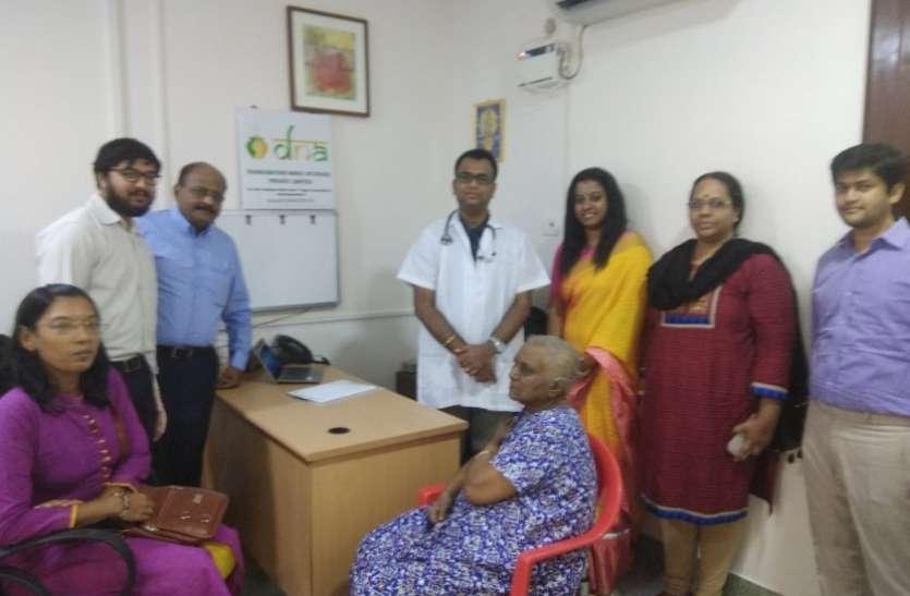 टीएनएजीएआर में देश का प्रथम निशुल्क नैनो आयुष स्वास्थ्य शिविर लगाया