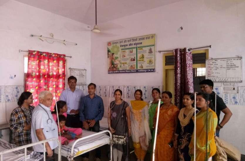 थैलेसीमिया पीडि़त बच्चों के लिए गोद लेंगी रासेयो नरसिंहपुर