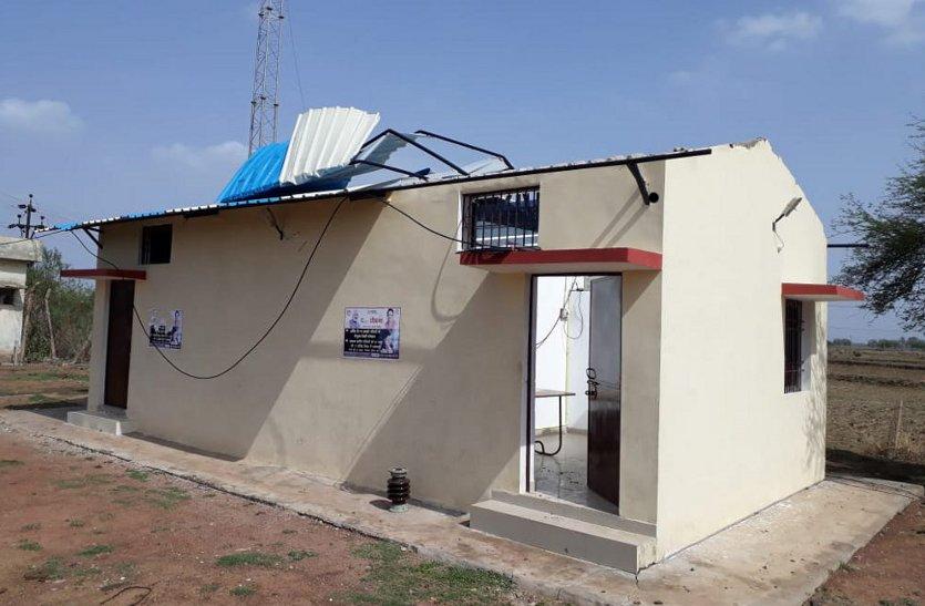 आंधी-तूफान का कहर, 20 घंटे गुल रही 50 गावों की बिजली