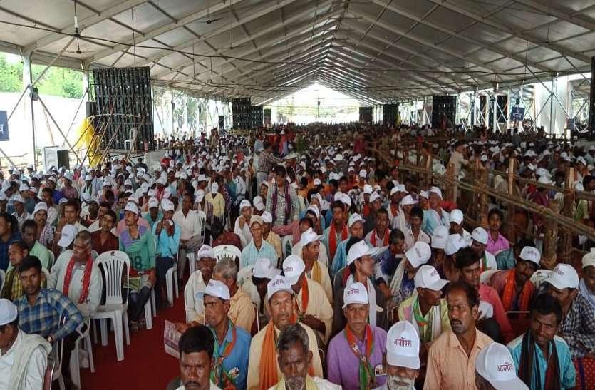 आम आदमी पार्टी का आरोप, PM मोदी ने छीन ली BSP के ठेका मजदूरों की रोजी