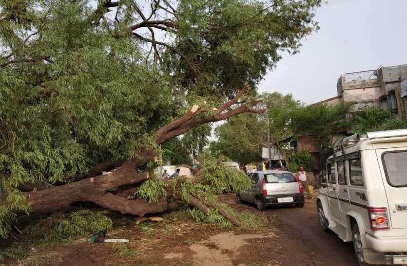 तेज आंधी तूफान का कहर, एक बालिका की मौत और एक किशोरी घायल