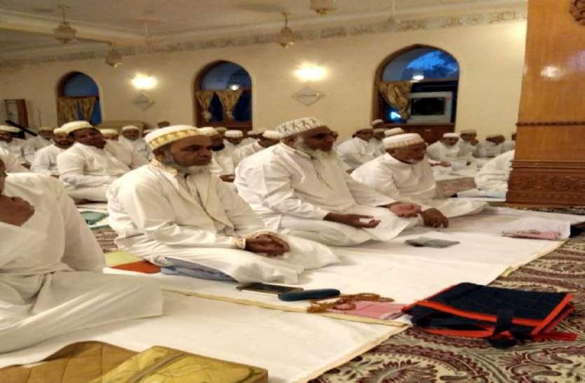 बोहरा समाज ने मनाई ईद, चांद दिखा तो सुन्नी समाज की ईद कल