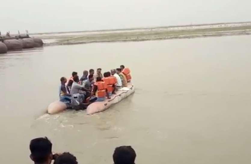 एनडीआरएफ ने बाढ़ से निपटने के लिए किया मॉकड्रिल