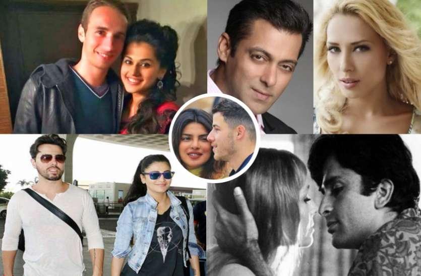 प्रियंका की तरह इन 10 बॅालीवुड स्टार्स ने भी किया Foreigners  को डेट, विदेशियों संग फरमाया इश्क