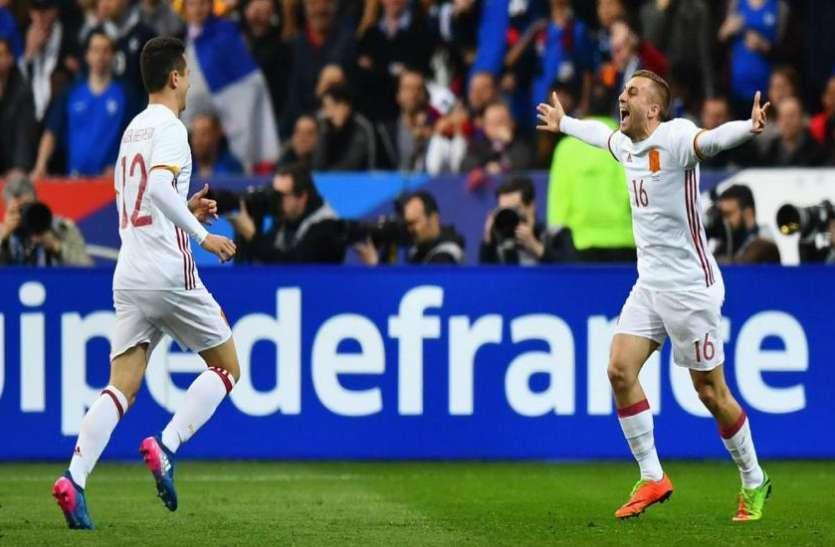 FIFA WC 2018: विवादों के बाद भी स्पेन है जीत का दावेदार, पुर्तगाल से मैच कल