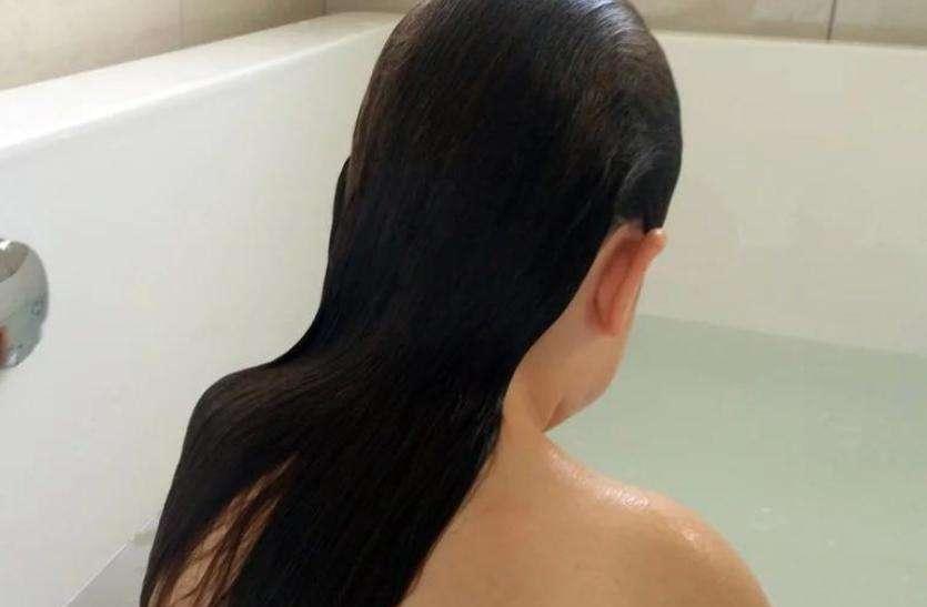 महिला का नहाते समय सहकर्मी ने बनाया वीडियो आैर फिर...