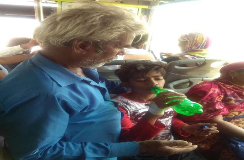 PM मोदी के आने की तैयारी: घंटों एक ही जगह खड़ी रही बस,14 साल के मासूम की जान पर आई आफत