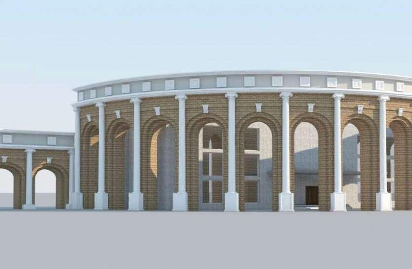 ऐसी है रीवा के खेल परिसर की डिजाइन, निर्माण में दस करोड़ होंगे खर्च