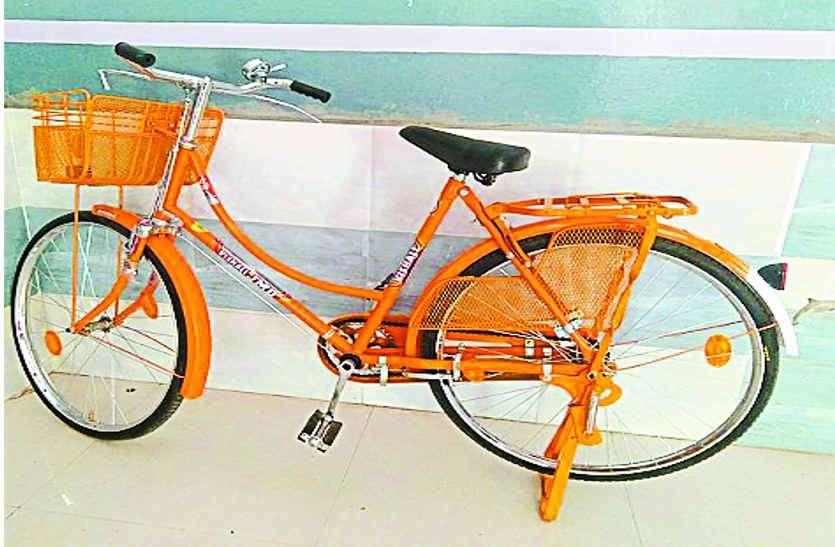 चुनाव आए तो याद आई बेटियों की साइकिलें,  पांच माह पहले जुलाई में ही वितरित होंगी
