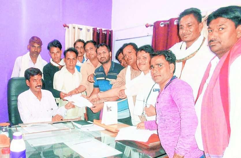 कोटा के 45 परिवारों ने किया मतदान का बहिष्कार