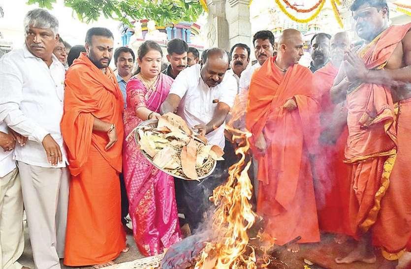 कालभैरवेश्वर मंदिर में मुख्यमंत्री ने की विशेष पूजा