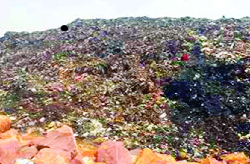 बिना एनवायरमेंट क्लीयरेंस के पटक दिया 10 लाख टन कचरा