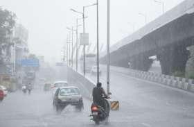 बारिश में जाम और सड़कों के गड्ढों ने बढ़ाया सिरदर्द