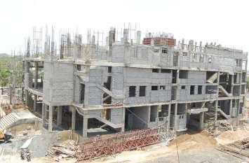 पूरा होने को है करोड़ों के ऑडीटोरियम का काम