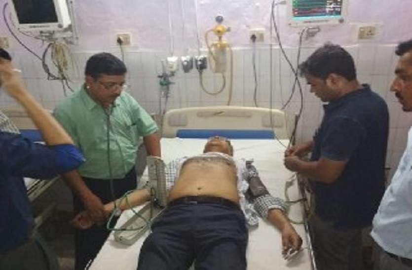 Breaking डॉक्टर पर दुष्कर्म का आरोप, पुलिस की पूछताछ में बिगड़ी हालत