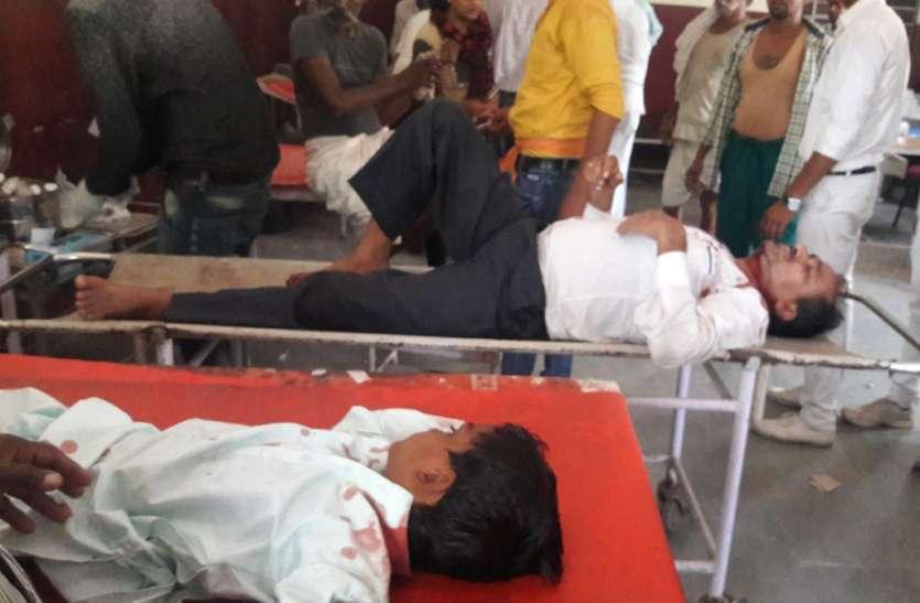 दो दुर्घटनाओं में 6 घायल, तीन जयपुर रैफर
