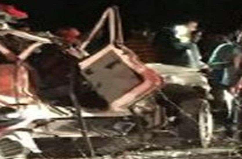 दो सड़क हादसों में नौ जने घायल, एक ने उपचार के दौरान तोड़ा दम