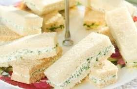 ब्रेकफास्ट में खाएं क्रीमी चीज सैंडविच