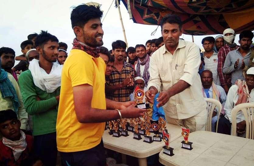 JAISALMER NEWS: क्रिकेट प्रतियोगिता का समापन,इस टीम ने जीता ख़िताब