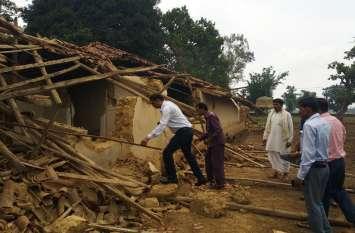 प्री-मानसून की बारिश के बीच छत्तीसगढ़ के शिमला में हाथियों का कहर, 2 दिन में उजाड़े 13 घर