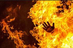 मुंबईःगिरगांव में लकड़ी की फ्लोरिंग में लगी आग, एक की मौत