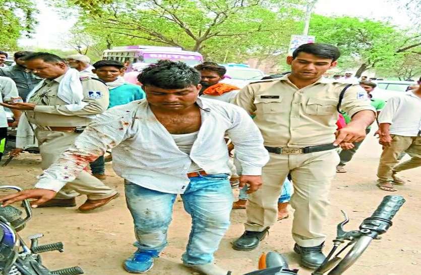BJP समर्थकों ने युवक को जमकर पीटा, करना चाहता था अभिलाष पाण्डे पर हमला