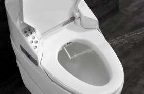 ये है आज के जमाने का स्मार्ट टॉयलेट, सिर्फ 1 बटन दबाते ही हो जाएंगे सारे काम