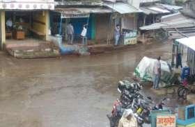 रायसेन में लगी रिमझिम बारिश की झड़ी