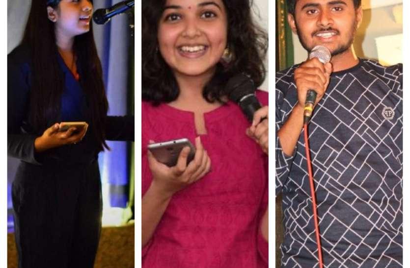 रायपुर के यूथ में ओपन माइक का बढ़ा ट्रेंड