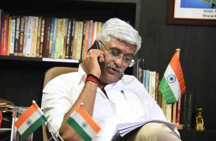 केन्द्रीय मंत्री गजेन्द्र सिंह का बयान—मतगणना होने दो,भारी बहुमत से लौटेंगे सत्ता में
