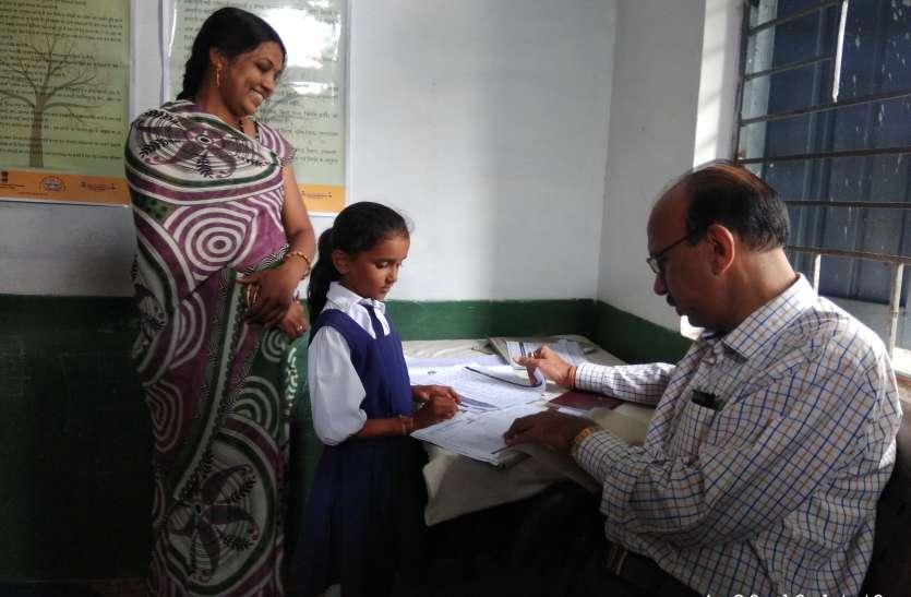 डीपीसी के सवाल पर बच्चों ने दिए फटाफट जवाब