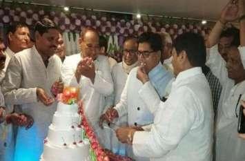प्रो. रामगोपाल यादव के  बर्थ डे में दिखाई दिया लोकसभा चुनाव 2019 का ट्रेलर