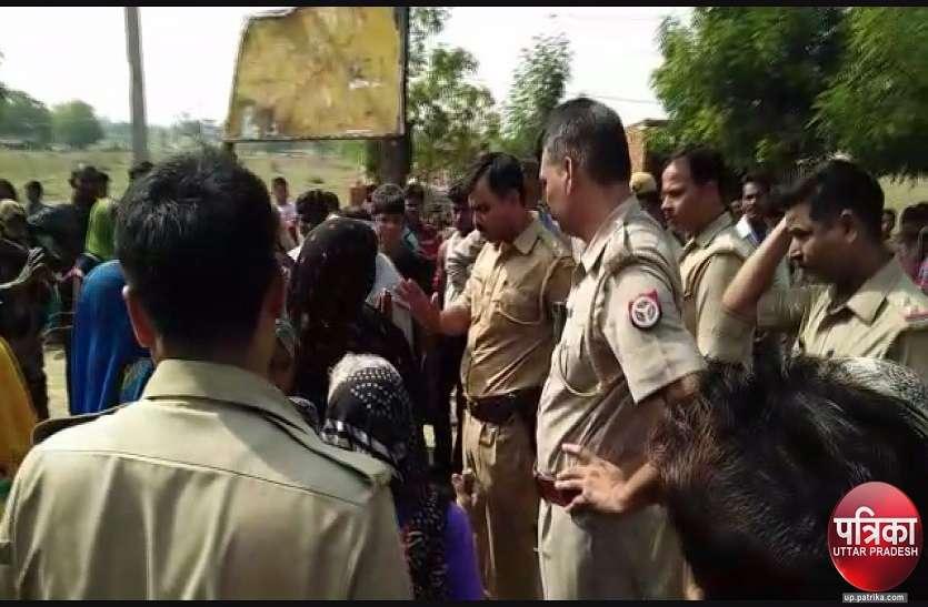 दिल्ली में युवक की मौत से आक्रोशित ग्रामीणों ने शव रख कर राष्ट्रीय राजमार्ग किया जाम