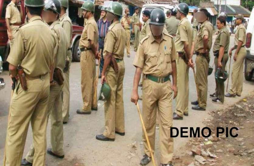 घरों में छिपकर बैठे  अपराधी, पुलिस पहुंची तो 254 को दबोचा
