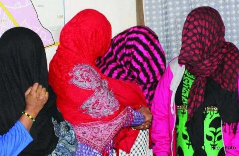 राजस्थान में बड़े सेक्स रैकेट का भंडाफोड़, चार युवतियों समेत छह गिरफ्तार
