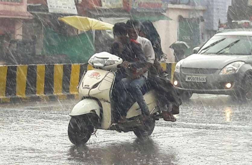 राजधानी जयपुर में झमाझम बारिश का दौर — इन 6 जिलों में आ सकता है सैलाब