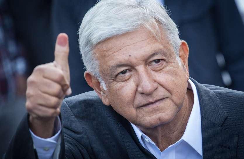 एंड्रेस मैनुअल लोपेज ओब्राडोर होंगे मेक्सिको के अगले राष्ट्रपति, सत्तारूढ़ पार्टी को हराया