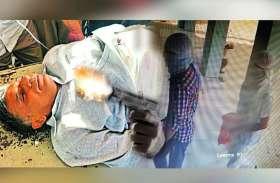 CHURU में बैंक मैनेजर पर बदमाशों ने बरसाई ताबड़तोड़ गोलियां, बुलेट पेट में फंसी