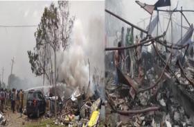 तेलंगाना:पटाखा फैक्ट्री में लगी भीषण आग 10 लोगों की मौत, घायलों की हालत गंभीर