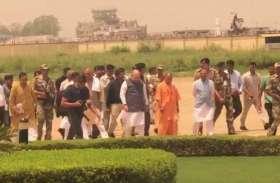 भाजपा के राष्ट्रीय अध्यक्ष अमित शाह का शानदार स्वागत, देखें तस्वीरें