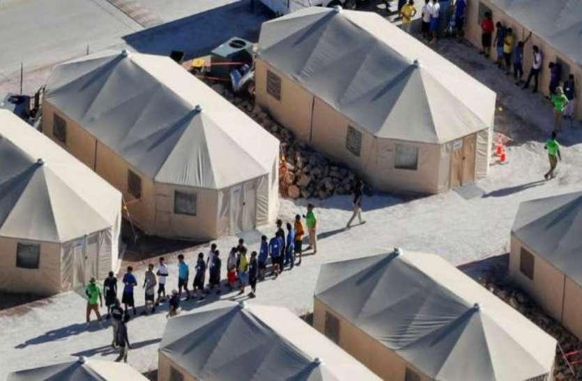 अमरीका-मैक्सिको सीमा पर रहने वाले प्रवासी बच्चों को माता-पिता से मिलाने से पहले किया जा रहा है DNA टेस्ट