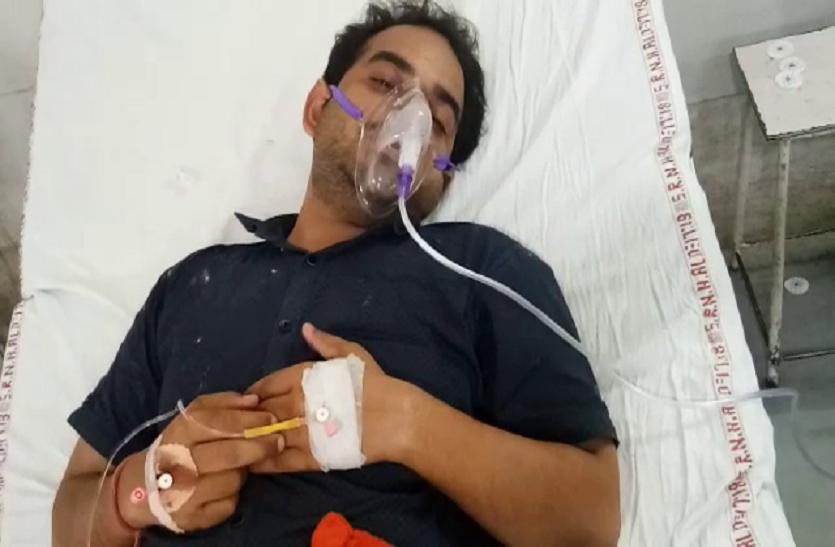 इलाहाबाद में डॉक्टर प्रमोद ने किया आत्महत्या का प्रयास, सीनियर डॉक्टर पर प्रताड़ित करने का आरोप