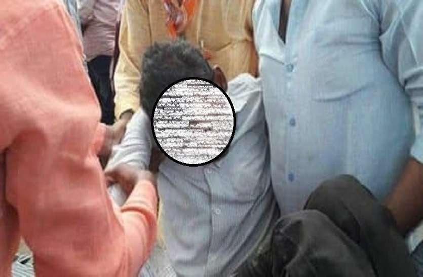 एक्सीडेंट में बीजेपी कार्यकर्ता श्रीराज की मौत, सांसद हरीश द्विवेदी के कार्यक्रम से लौटते वक्त हुआ हादसा