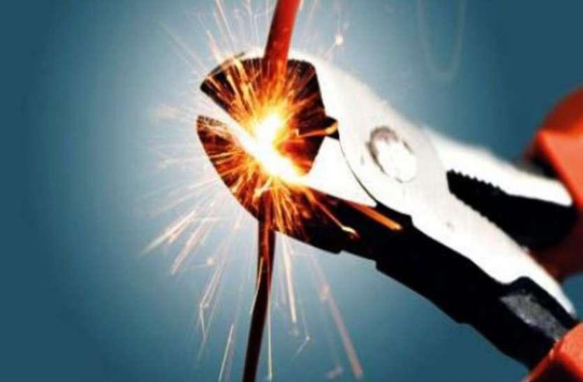 कुचामन अटल सेवा केन्द्र में 28 घंटे बद रही बिजली