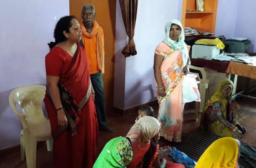 महिलाओं ने सुना प्रधानमंत्री का संदेश, सीधे संवाद कार्यक्रम का जिला स्तर पर हुआ आयोजन