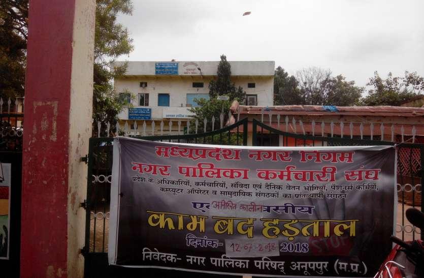 6 सूत्री मांगों में धरने पर बैठे नपा कर्मचारी सफाई; पानी, बिजली जैसी जरूरी सुविधाएंं रही बंद, असुविधाओं से बेहाल हुए नगरवासी