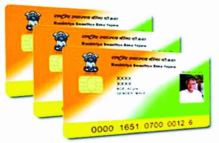 65 फीसदी परिवारों का अब तक नहीं बना स्मार्ट कार्ड, नहीं मिल पा रहा लाभ