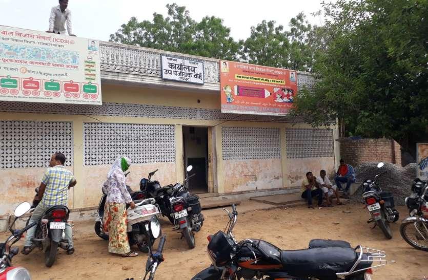 चौमूं का सीडीपीओ कार्यालय बना पूछताछ केन्द्र!
