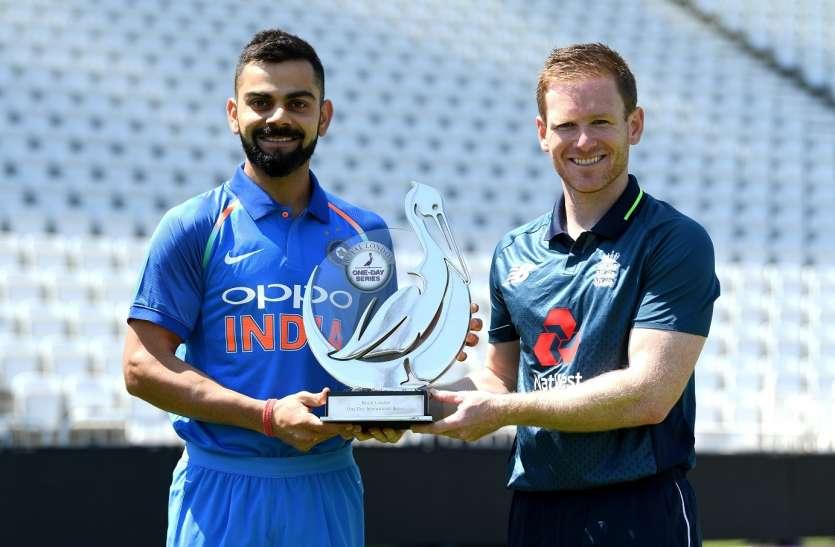 Ind vs Eng : पांच साल बाद वनडे सीरीज में फिर से कब्ज़ा जमाना चाहेगा भारत